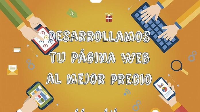 Desarrollamos tu página web al mejor precio